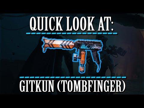 Warframe - Quick Look At: GitKun (Tombfinger) thumbnail