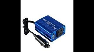 Foval 150W Power Inverter DC 12V to 110V AC Converter