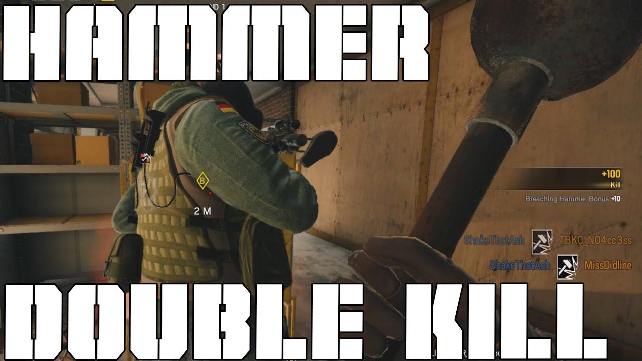 The Hammer Double Kill - Rainbow Six Siege Highlights
