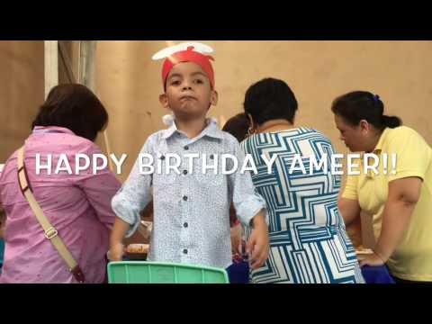 Happy Birthday Ameer!