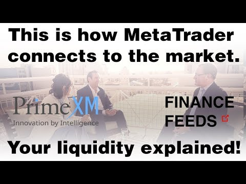 How MetaTrader connects to YOUR brokerage