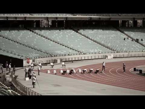 Ramil Guliyev 100м Забег.Исламские Игры.