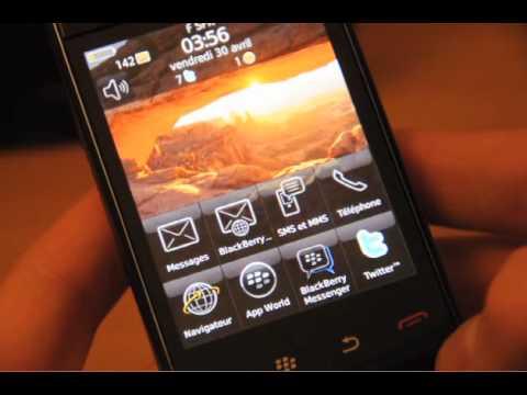 Test du BlackBerry Storm 2 9520 par Test-Mobile.fr