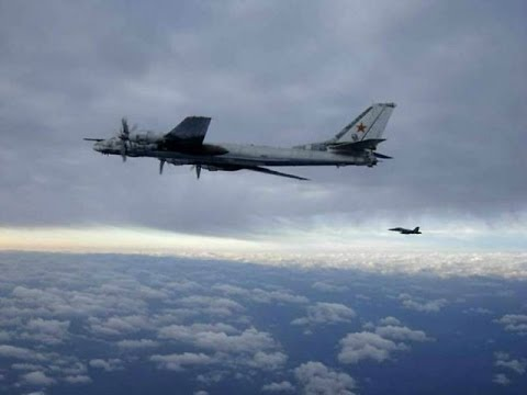 World War 3 : Russian Strategic Nuclear Bombers fly along California Coast and Guam (May 07, 2014)