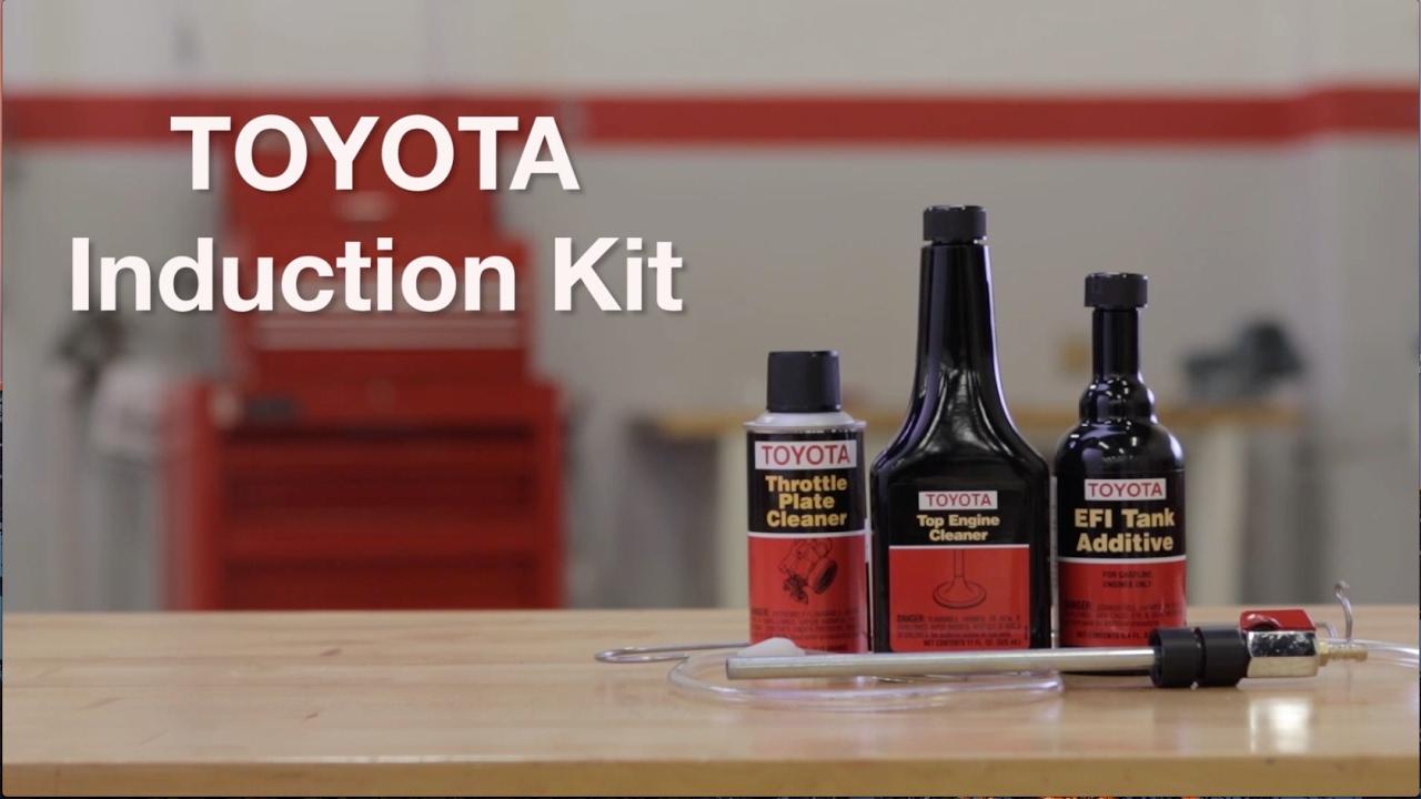 Genuine Toyota Induction Kit