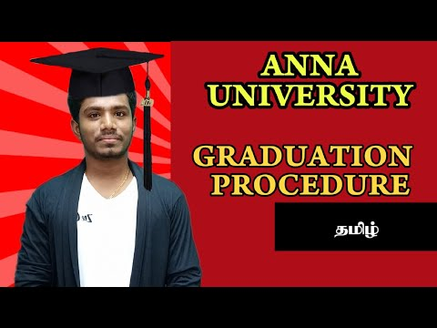 Anna University Graduation Procedure | First class | Second class | Tamil | Maheyo Kabilan