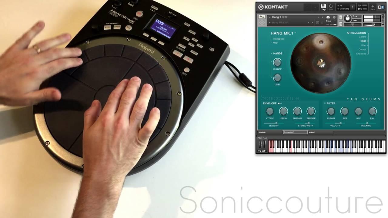 soniccouture hang drum kontakt