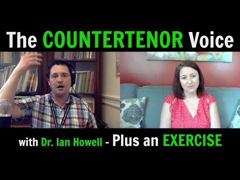 THE COUNTERTENOR VOICE with Dr. Ian Howell - plus an EXERCISE