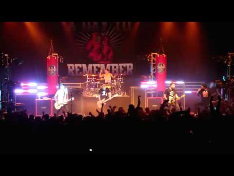 A Day To Remember - Monument (LIVE HD)