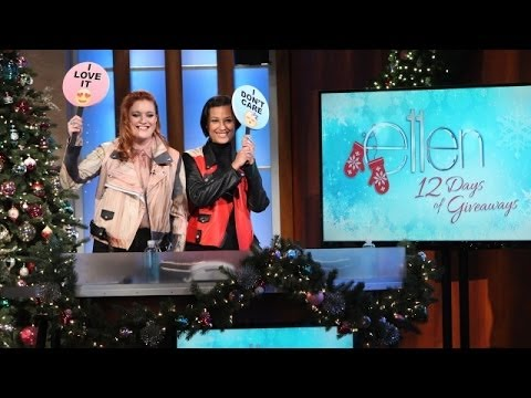 Icona Pop Plays 'I Don't Care/I Love It'