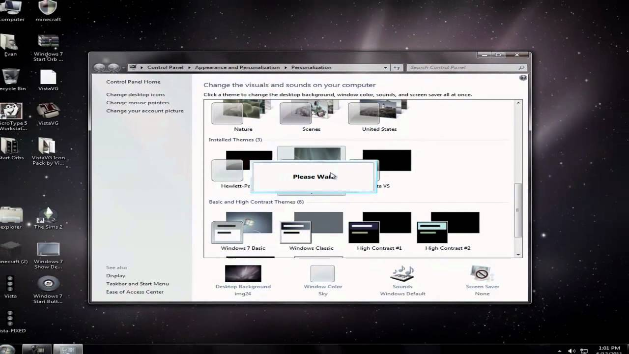 how to make windows 7 look like windows vista