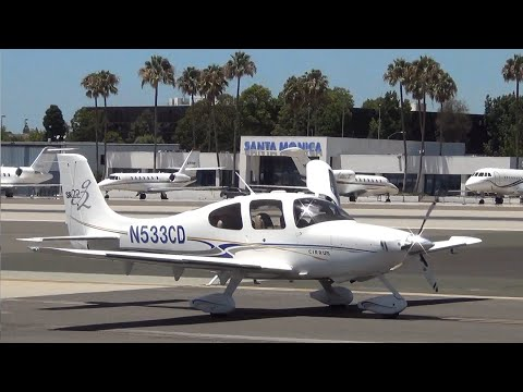 Santa Monica Municipal Airport Spotting (7/21/2016)