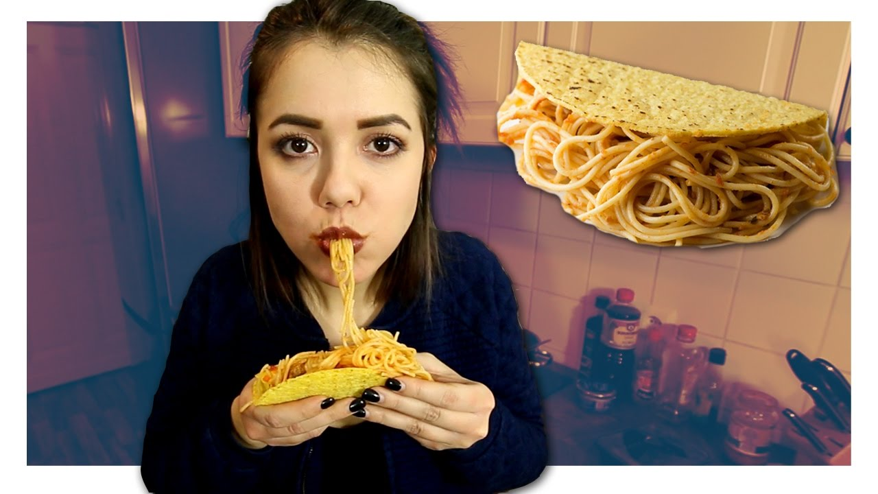 Wie Schmecken Spaghetti Tacos Aus Icarly Youtube