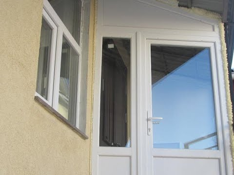 Как заделать пластиковые окна снаружи