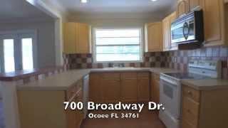 700 BROADWAY DR, OCOEE FL 34761