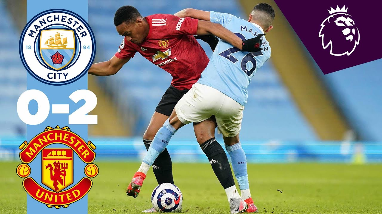 HIGHLIGHTS | MAN CITY 0-2 MAN UNITED
