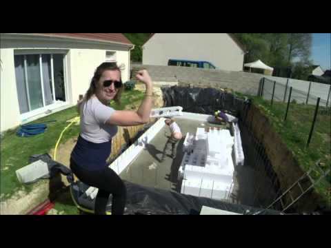 Coulage Dalle Piscine Youtube