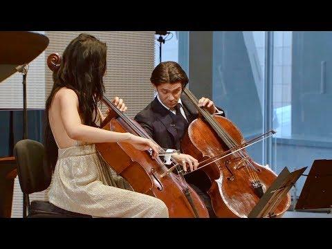 Sophia Bacelar & Gautier Capuçon - Shostakovich Prelude - Fondation Louis Vuitton