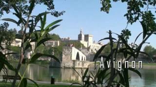 AVIGNON in Frankreich, Brücke, Papstpalast und Stadt
