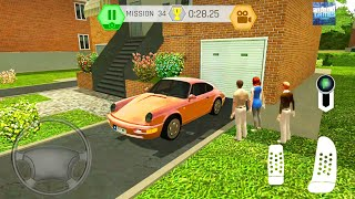 Porsche Car Driving In Spain City - Parking and Drive Simulator - Android Gameplay
