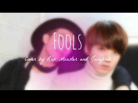 Fools cover by Jungkook and Rap Monster [Empty Arena]