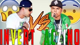 invert vs aczino vdeo reaccin big battle sevilla batalln