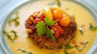 Beth's Summer Quinoa Cakes (Vegan Recipe!) | ENTERTAINING WITH BETH