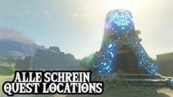Alle Schrein-Quest Locations - ZELDA: BREATH OF THE WILD - Guide