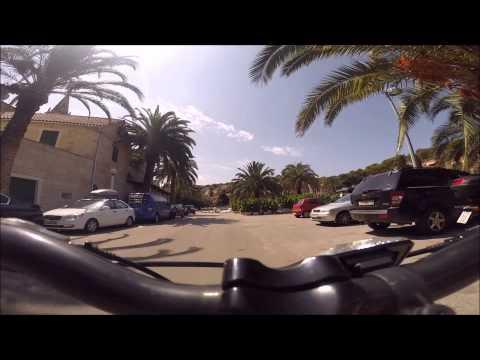 Bike ride through Splitska, Brač