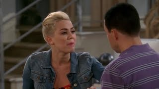 Miley Cyrus Two and a Half Men Clip!