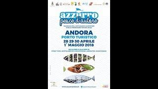 """DAL 28 APRILE AL PRIMO MAGGIO AD ANDORA """"AZZURRO PESCE D'AUTORE"""" thumbnail"""
