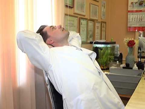 Зарядка при шейном остеохондрозе: комплексы и видео