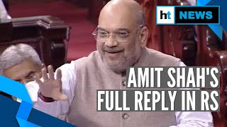 How long will you fool minorities?: Amit Shah stings Congress in CAB debate