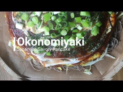 Vegan Okonomiyaki ¦ Dairy free and Egg Free