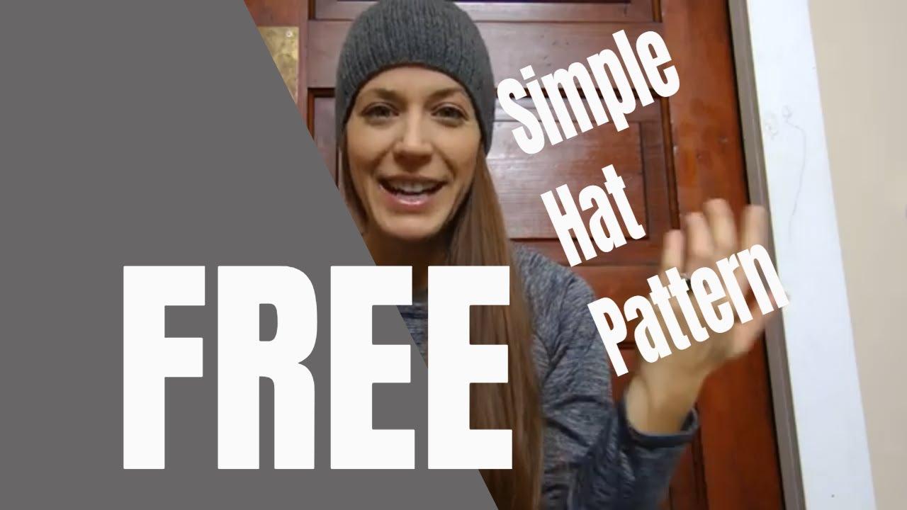 FREE knit hat pattern!!