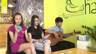 Anh cứ đi đi _ Acoustic cover by Jan coffee