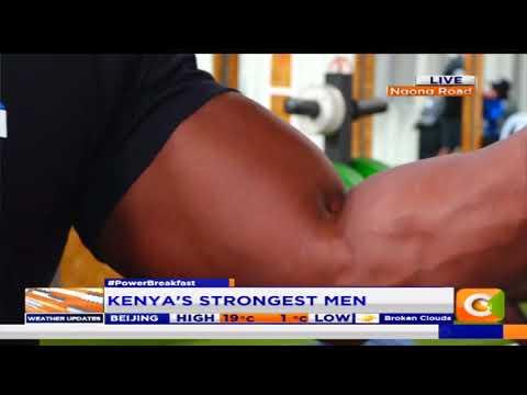 Power Breakfast:Kenya's strongest man competition preparations