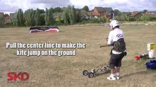 How to Land and Launch a power kite in High winds