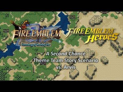 "Fire Emblem Heroes: ""A Second Chance"" - A Visual Novel-esque Story Scenario [vs. Arvis GHB]"