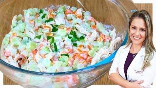 Salada Saudável Para Emagrecer E Desinchar