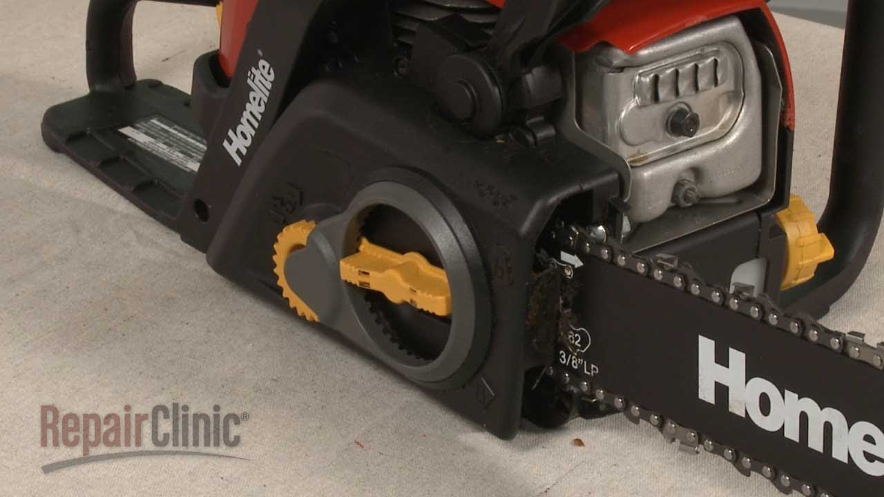 Homelite chainsaw chain cover replacement 310508005 youtube homelite chainsaw chain cover replacement 310508005 greentooth Image collections