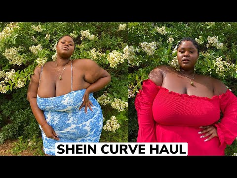 Shein Plus Size Try On Hual | Shein Curve