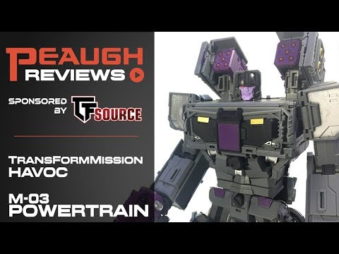 Video Review: TransFormMission Havoc - M-03 POWERTRAIN