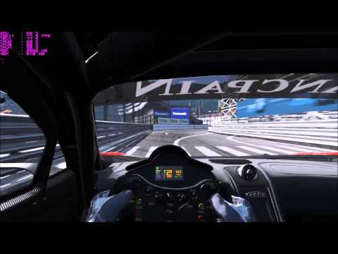 Project Cars - Monaco 4th best world time GT3 + Setup