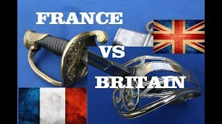 Britain vs France! - 1845 Pattern Infantry Officer's Swords Compared