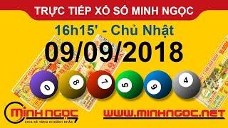 Xổ số Minh Ngọc™ Chủ Nhật 09/09/2018 - Kênh chính thức từ Minhngoc.net.vn