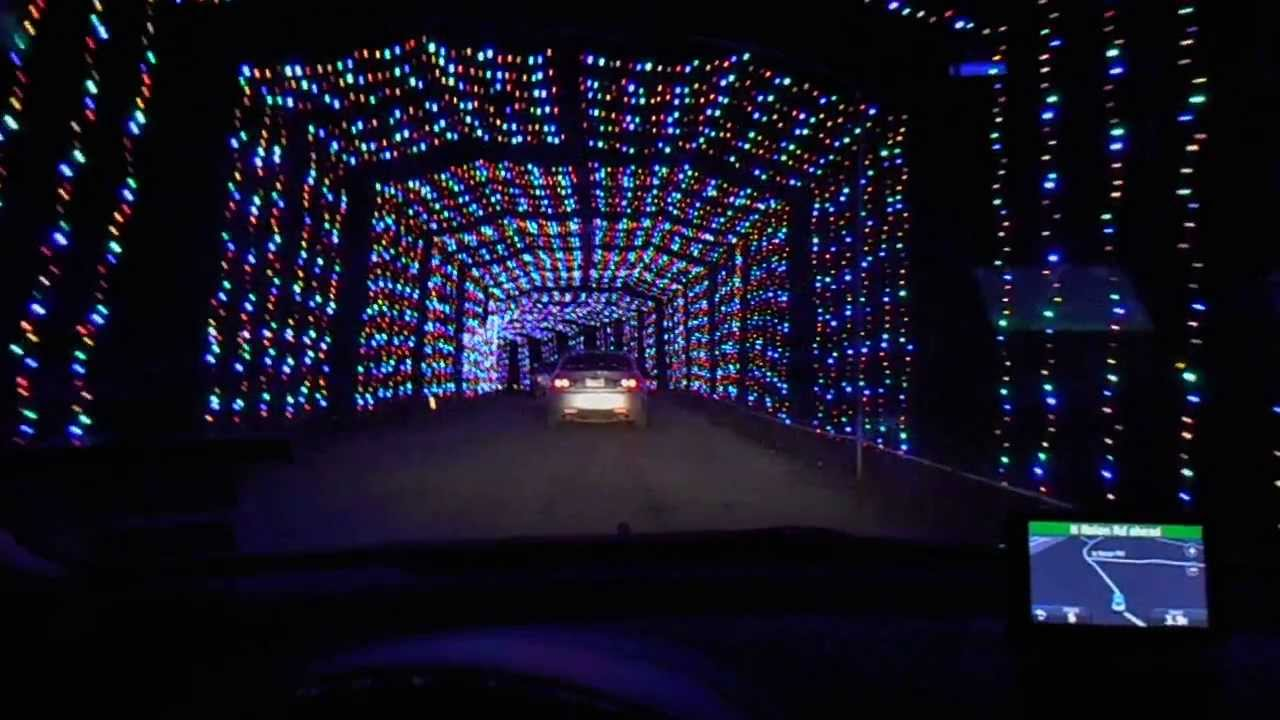 Charming Ft Hood, TX, BLORA Christmas Light Display 2013
