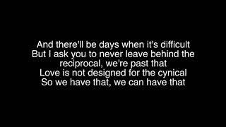 Dermot Kennedy- Outnumbered Lyrics Video