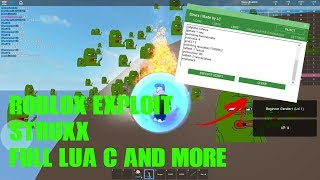 Roblox Hack/Exploit:Struxx(Patched)Full LUA C, Illuminati, And More!