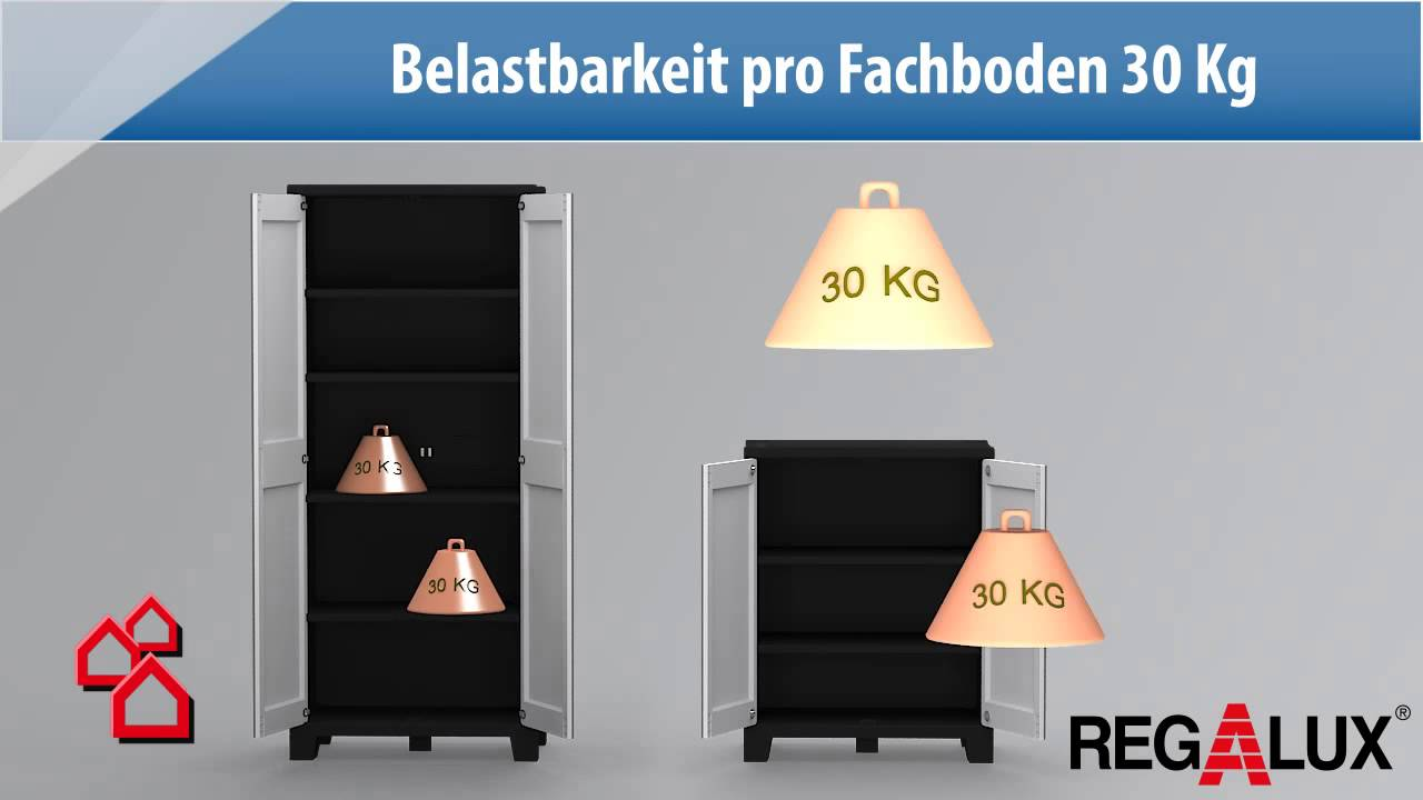 Bauhaus kleiderschrank  BAUHAUS TV - Produktvideo: Regalux Spaceline Schrank - YouTube